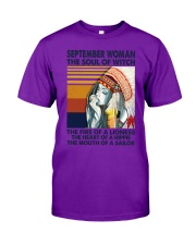 September Woman The Soul of Witch Classic T-Shirt thumbnail