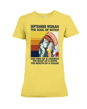 September Woman The Soul of Witch Premium Fit Ladies Tee thumbnail