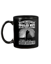 I Have A Spoiled Wife She Was Born In October Mug back
