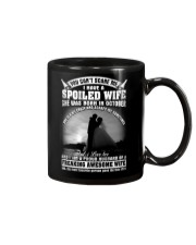 I Have A Spoiled Wife She Was Born In October Mug front
