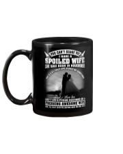 I Have A Spoiled Wife She Was Born In November Mug back