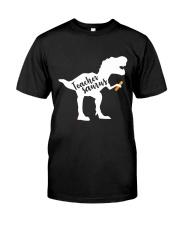 Teacher saurus Classic T-Shirt front