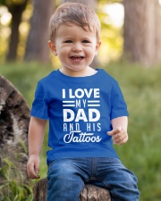 Love my dad and his tattoos Youth T-Shirt lifestyle-youth-tshirt-front-4