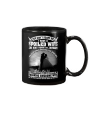 I Have A Spoiled Wife She Was Born In January Mug front
