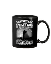 I Have A Spoiled Wife She Was Born In March Mug front