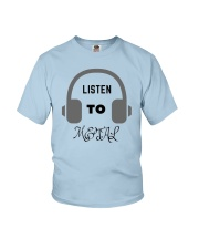 Listen To Metal T-Shirt Youth T-Shirt tile
