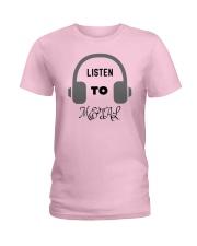 Listen To Metal T-Shirt Ladies T-Shirt thumbnail