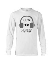 Listen To Metal T-Shirt Long Sleeve Tee thumbnail