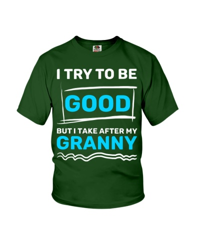 I try to be good - GRANNY