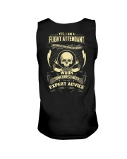 Flight Attendant T-shirt Limited Edition  Unisex Tank thumbnail