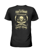 Flight Attendant T-shirt Limited Edition  Ladies T-Shirt thumbnail