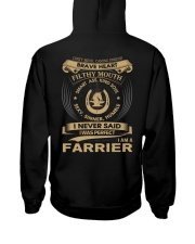 Farrier T-Shirt Limited Edition Hooded Sweatshirt thumbnail