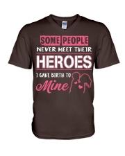 SOME PEOPLE  V-Neck T-Shirt thumbnail