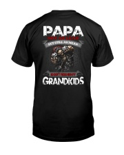 PAPA NOT AS LEAN Classic T-Shirt back