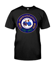 Andy Beshear Tupac Kentucky State Seal Classic T-Shirt front