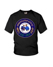 Andy Beshear Tupac Kentucky State Seal Youth T-Shirt thumbnail
