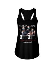 supernatural got real quarantined 2020 Ladies Flowy Tank thumbnail