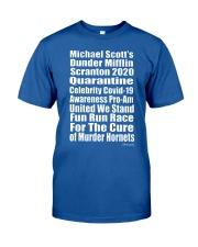 Dunder Miffin Scranton 2020 Quarantine  Classic T-Shirt front