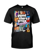 Grand theft auto scranton the office Classic T-Shirt front