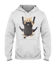 cat in a baby carrier Hooded Sweatshirt thumbnail