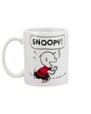 Snoopy and Charlie Brown Mug back