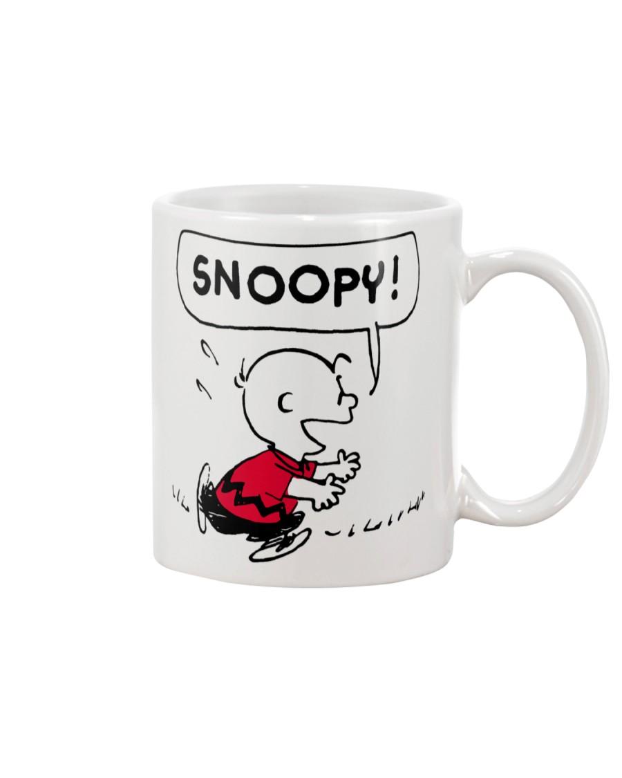 Snoopy and Charlie Brown Mug