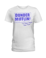 The Office Dunder Mifflin  Ladies T-Shirt thumbnail