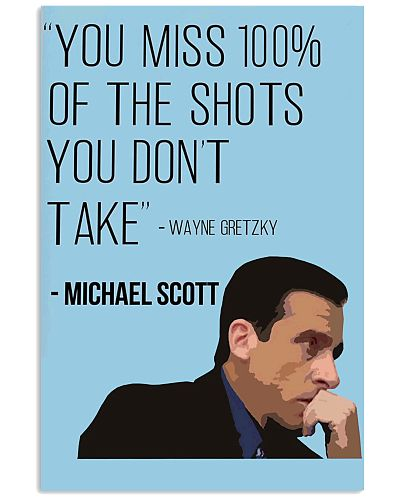 you miss 100 of the shots you don't take michael