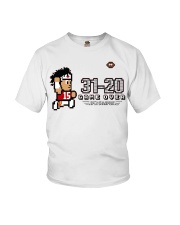 31-20 game over super champions Youth T-Shirt thumbnail