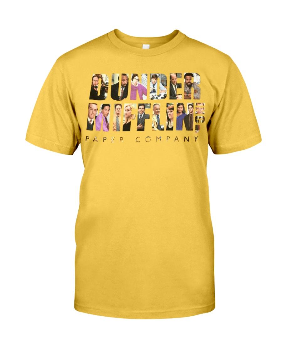 The Office Dunder Mifflin Yellow Classic T-Shirt