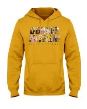 The Office Dunder Mifflin Yellow Hooded Sweatshirt thumbnail