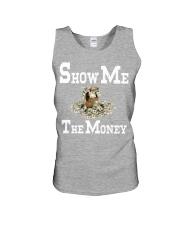 show me the money Unisex Tank front