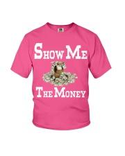 show me the money Youth T-Shirt thumbnail