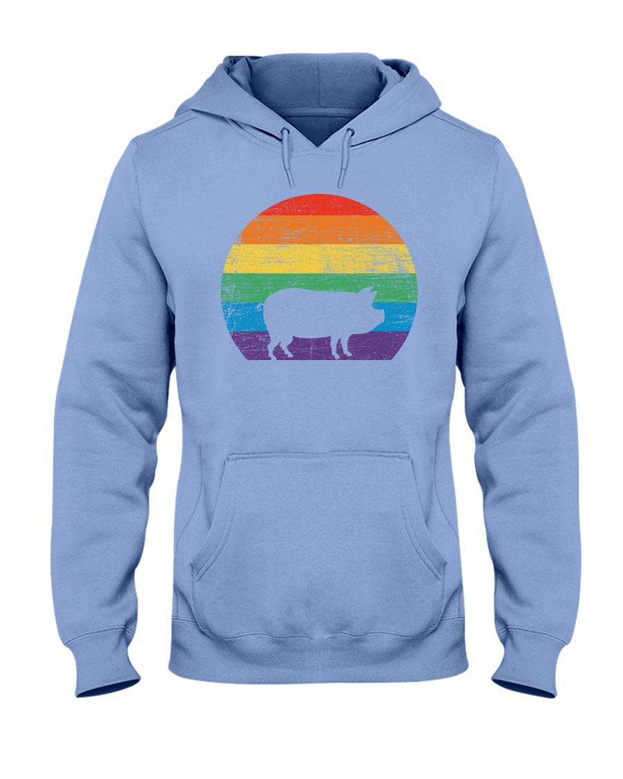 Pig Lover Pride Hooded Sweatshirt