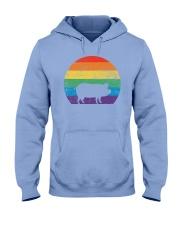 Pig Lover Pride Hooded Sweatshirt front