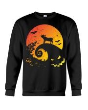 Scary Halloween Pig Crewneck Sweatshirt thumbnail