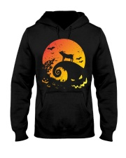 Scary Halloween Pig Hooded Sweatshirt thumbnail