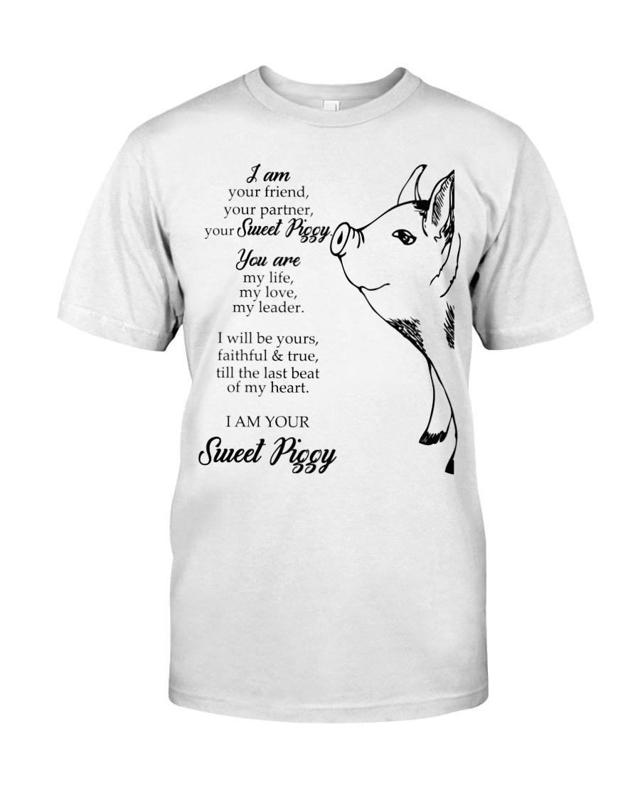 Pig Poem Classic T-Shirt