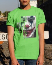 The joker is on us  Classic T-Shirt apparel-classic-tshirt-lifestyle-29