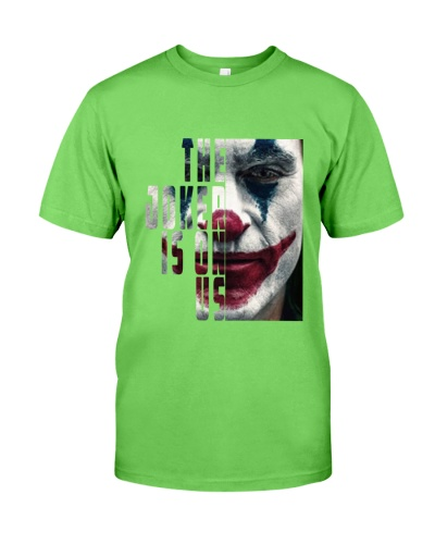 The joker is on us