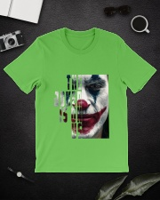 The joker is on us  Classic T-Shirt lifestyle-mens-crewneck-front-16