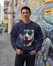 The joker is on us  Crewneck Sweatshirt lifestyle-unisex-sweatshirt-front-2