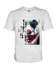 The joker is on us  V-Neck T-Shirt thumbnail
