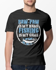 Paw Paw Is My Name Fishing Is My Game Shirt Premium Fit Mens Tee lifestyle-mens-crewneck-front-13