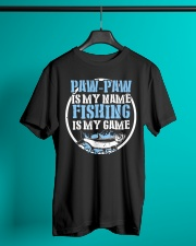 Paw Paw Is My Name Fishing Is My Game Shirt Premium Fit Mens Tee lifestyle-mens-crewneck-front-3