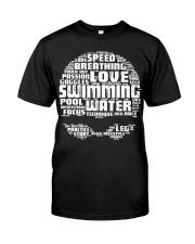 Swimming Shirt Classic T-Shirt thumbnail