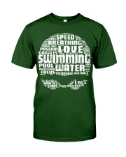 Swimming Shirt Classic T-Shirt front