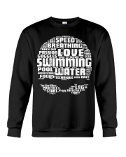 Swimming Shirt Crewneck Sweatshirt thumbnail