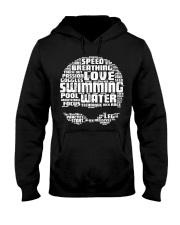 Swimming Shirt Hooded Sweatshirt thumbnail