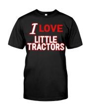 I Love Little Tractors Shirt Premium Fit Mens Tee thumbnail